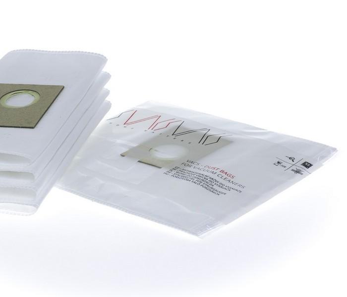 VACS Staubsaugerbeutel Für INDESIT SI 120 (4 Stück + 1 Filter)
