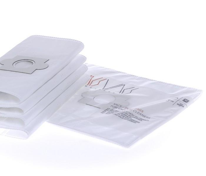 VACS Staubsaugerbeutel Für INDESIT NT 800 A (4 Stück + 1 Filter)