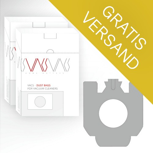 VACS Staubsaugerbeutel Für MIELE S 771 Tango (40 Stück + 10 Filter) - Versand Kostenlos